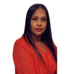 Deena Ramkuar, estate agent