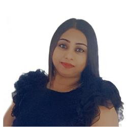 Fathima Shaik, estate agent